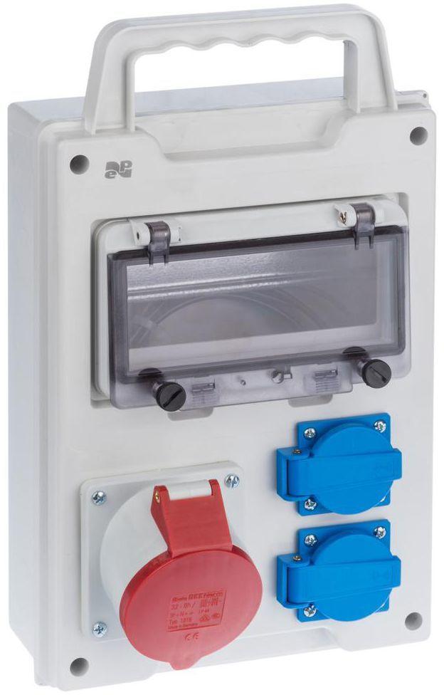 Rozdzielnica elektryczna bez wyposażenia RS 1 / 8 6216 - 10 / 2 X 2P + Z 3P + N + Z BS ELEKTRO-PLAST