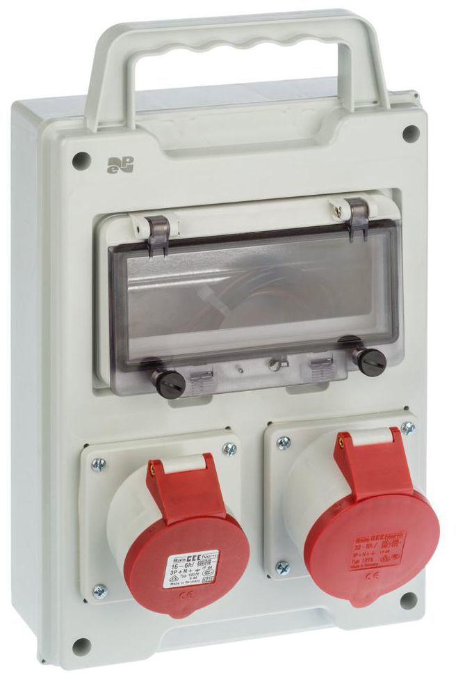 Rozdzielnica elektryczna bez wyposażenia RS 1 / 8 6216 - 20 / 2 X 3P + N + Z 400V BS ELEKTRO-PLAST