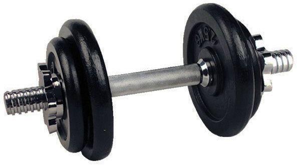 Hantla z obciążeniem żeliwnym 10 kg Insportline