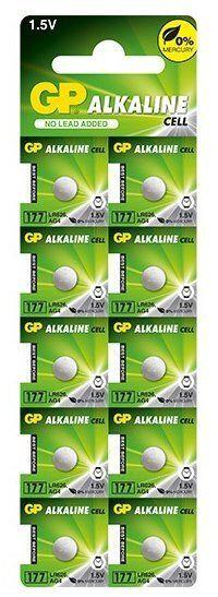Baterie alkaliczne mini GP GP 177 / G4 / AG4 / LR626 10 sztuk
