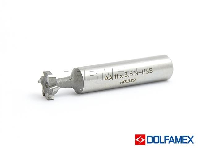 Frez do rowków teowych DIN851-AA, 18 x 8MM - DOLFAMEX