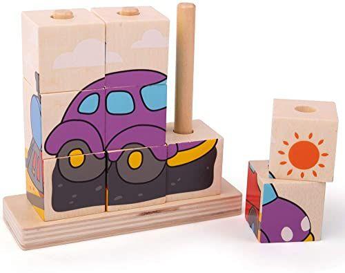 Bigjigs Toys Kamienie do układania w stos