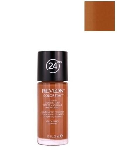 Revlon Colorstay Podkład cera mieszana i tłusta 400 Caramel - 30ml Do każdego zamówienia upominek gratis.