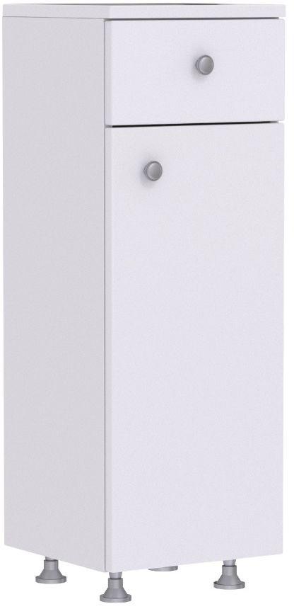 Szafka łazienkowa MILA D30 S/1 P/L 30 biała  Kupuj w Sprawdzonych sklepach