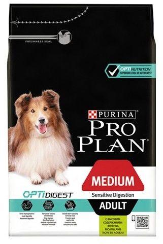 Purina Pro Plan Adult Medium Sensitive Digestion OptiDigest 3kg
