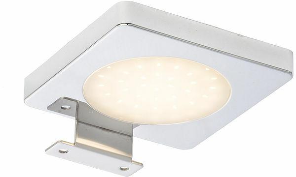 Kinkiet nad lustro YOLO SQ nad lustro chrom 12= LED 4W IP44 3000K R10588 - RedLux - Autoryzowany dystrybutor REDLUX