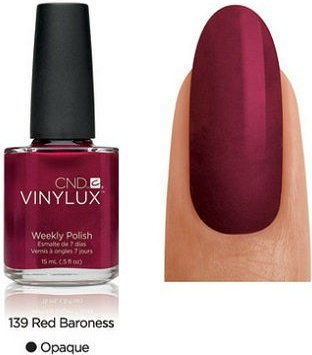 Lakier Cnd Vinylux Red Baroness