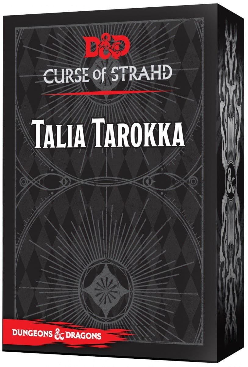 Gra Dungeons&Dragons Talia Tarokka