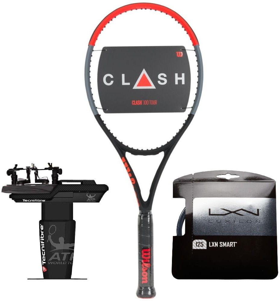 Wilson Clash 100 Tour + naciąg + usługa serwisowa