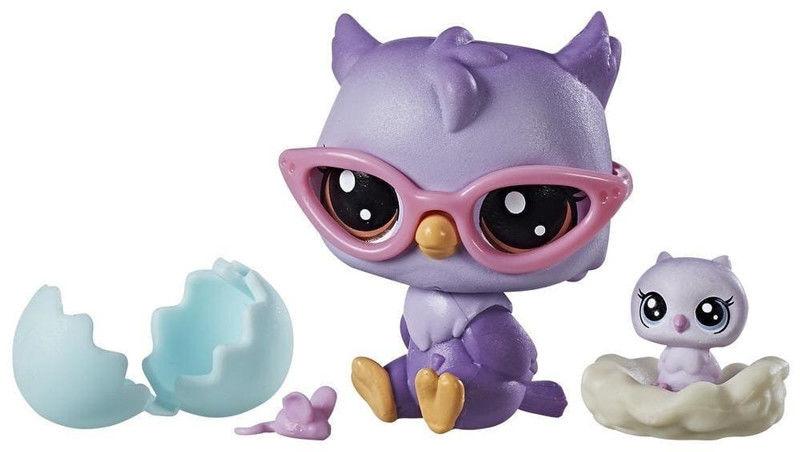 Littlest Pet Shop - Zwierzaki i akcesoria Oona i Nona Owler C1165