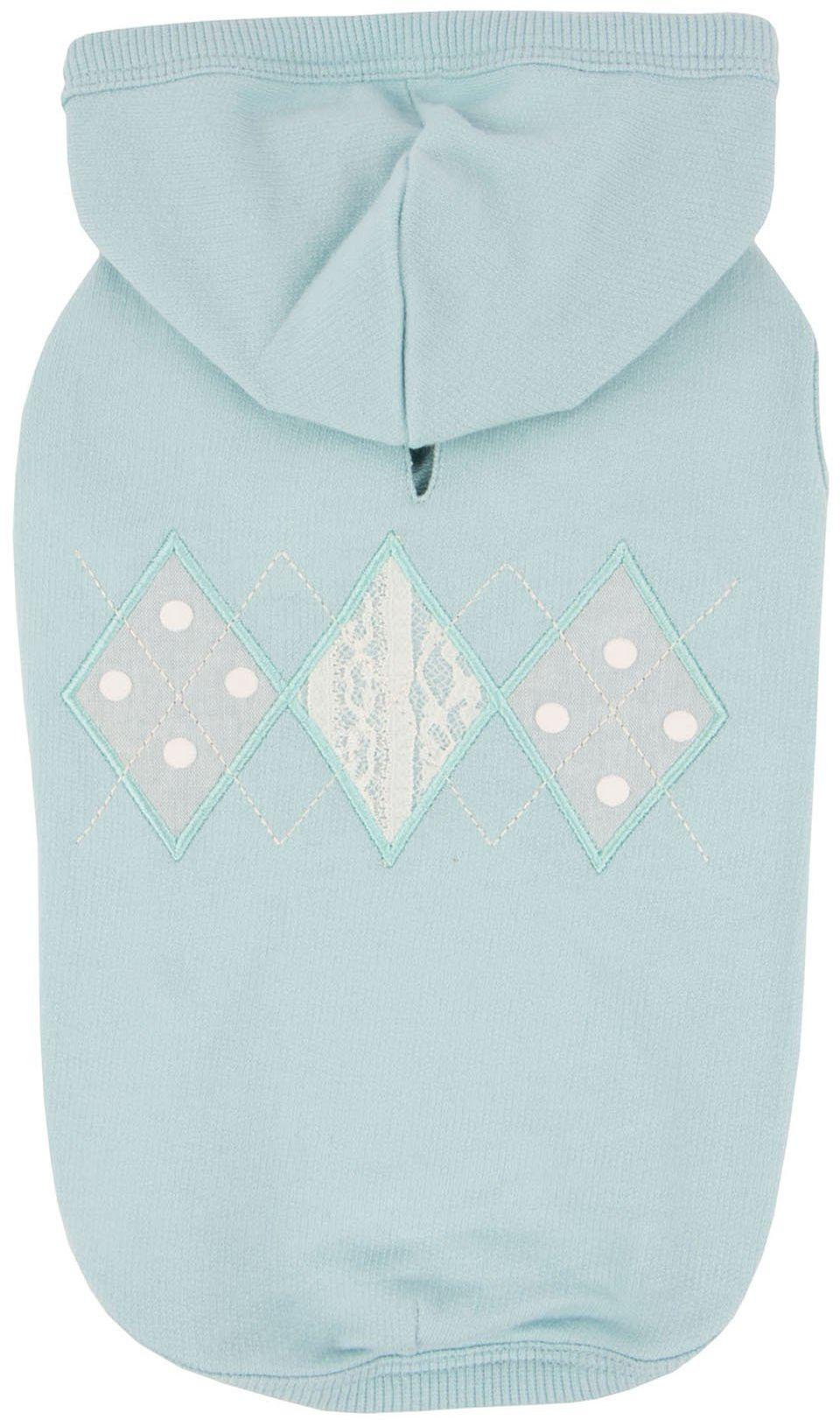 Pinkaholic New York NARA-TS7309-MT-XS Mint Carys bluza z kapturem dla zwierząt domowych, X-Small