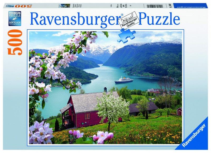 Puzzle 500 elementów Skandynawska idylla