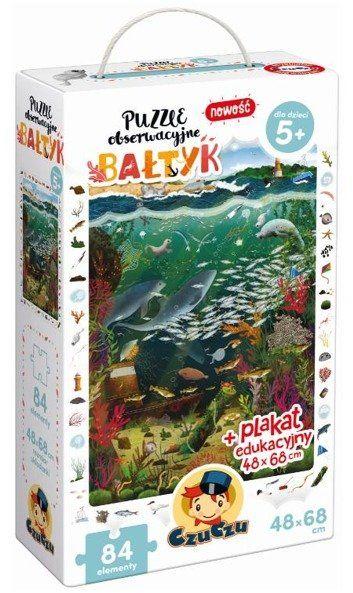 CzuCzu Puzzle obserwacyjne Bałtyk