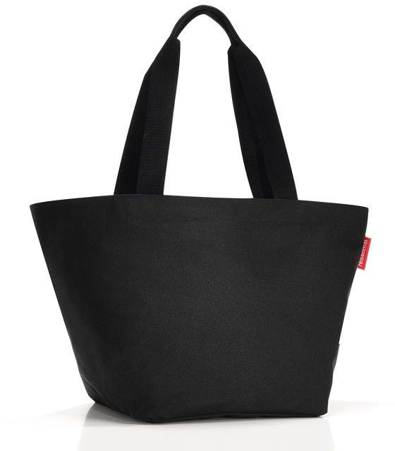 Torba na zakupy (czarna) Shopper M Reisenthel