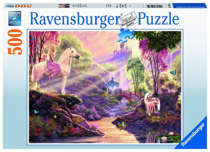 Puzzle 500 elementów Bajkowa rzeka