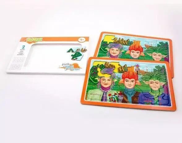 Domisie - Puzzle znajdź 5 różnic-Trzej Przyjaciele - Felico