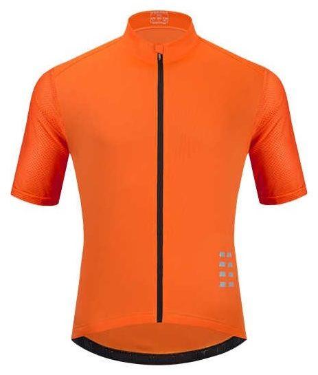 WOSAWE BL247-O męska koszulka rowerowa z krótkim rękawem, pomarańczowa Rozmiar: L,BL247-O