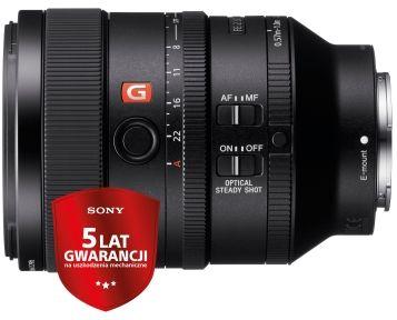Obiektyw Sony SEL FE 100mm f/2.8 STF GM OSS