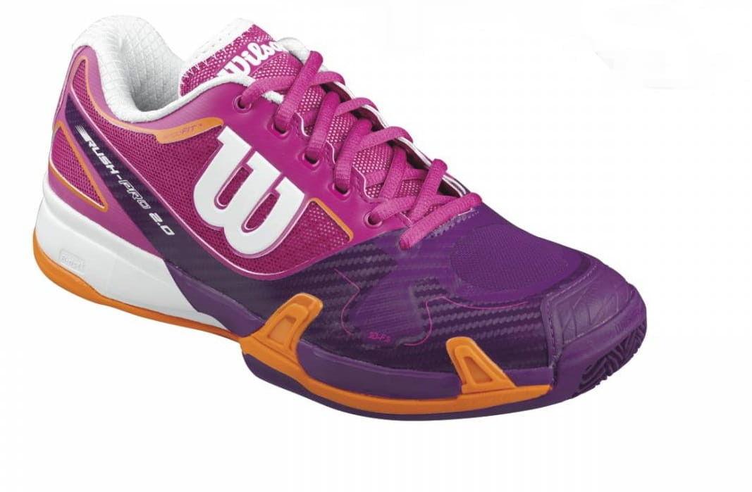 Wilson Rush Pro 2.0 Clay Court W - fiesta pink/da