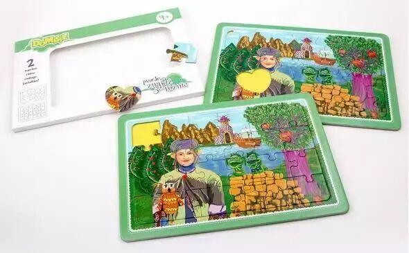 Domisie - Puzzle znajdź 5 różnic - Sąsiedzi... - Felico