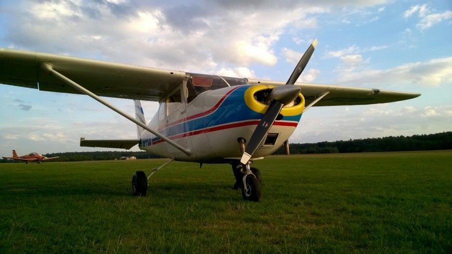 Lot widokowy samolotem - Rybnik - 10 minut (1-3 os)