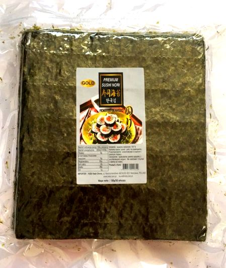 Glony do sushi Nori GOLD 50 szt. - EAT
