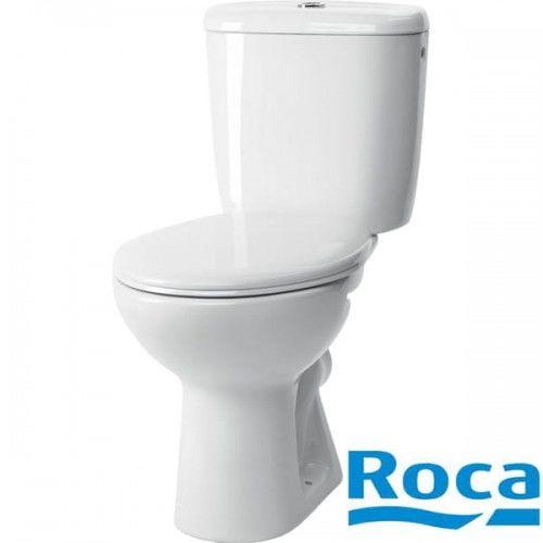 Zestaw kompaktowy WC ROCA Madalena spłuczka + deska (A349591000)