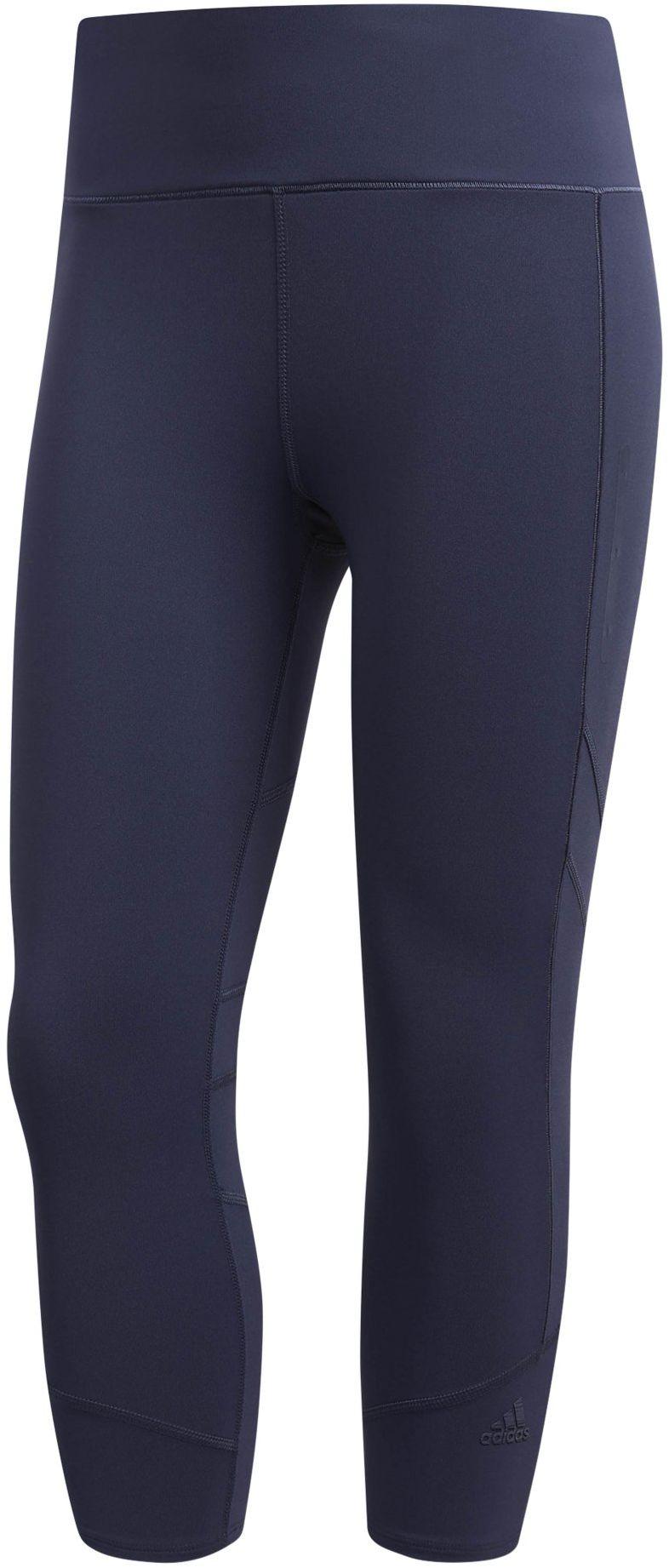adidas Damskie legginsy How We Do Long Tights niebieski Trablu XL