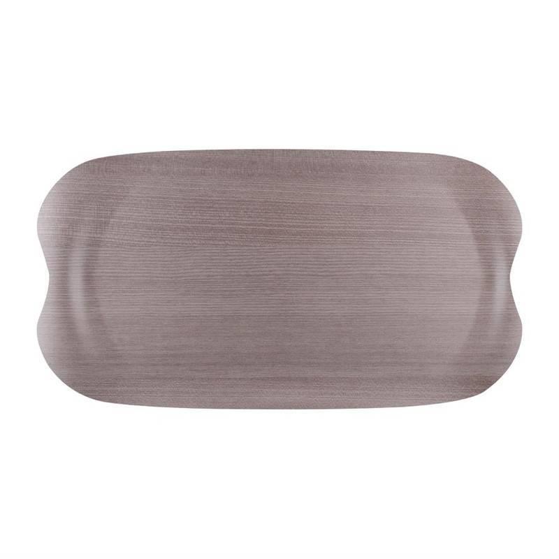 Taca szare drewno 43x23cm