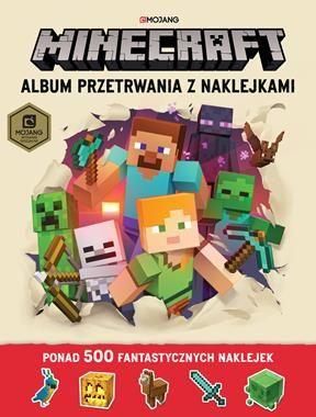 Album przetrwania z naklejkami. Minecraft ZAKŁADKA DO KSIĄŻEK GRATIS DO KAŻDEGO ZAMÓWIENIA