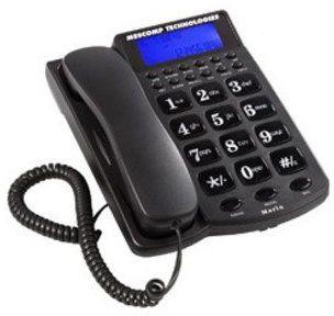Telefon stacjonarny MESCOMP Telefon MESCOMP Maria MT-512 + Zamów z DOSTAWĄ JUTRO! + ODBIERZ ZA GODZINĘ W ELEKTROMARKECIE!