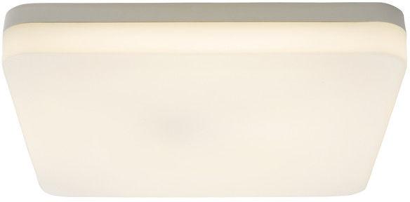 Plafon LED Colours Halli kwadratowy IP65 28 cm biały z czujnikiem ruchu