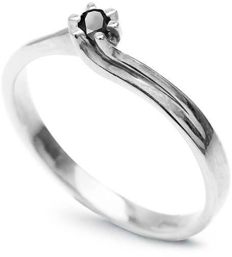 Złoty pierścionek PBD3708 - Diament