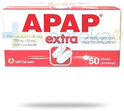 Apap Extra 50 tabletek