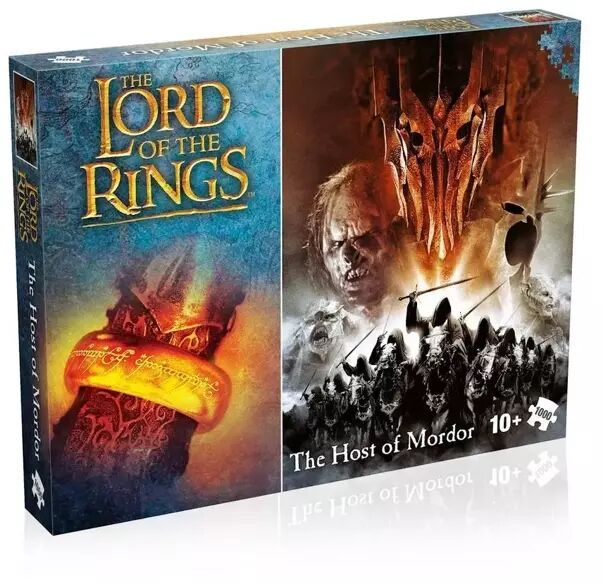 Puzzle 1000 Lord of the rings Host of Mordor - Winning Moves