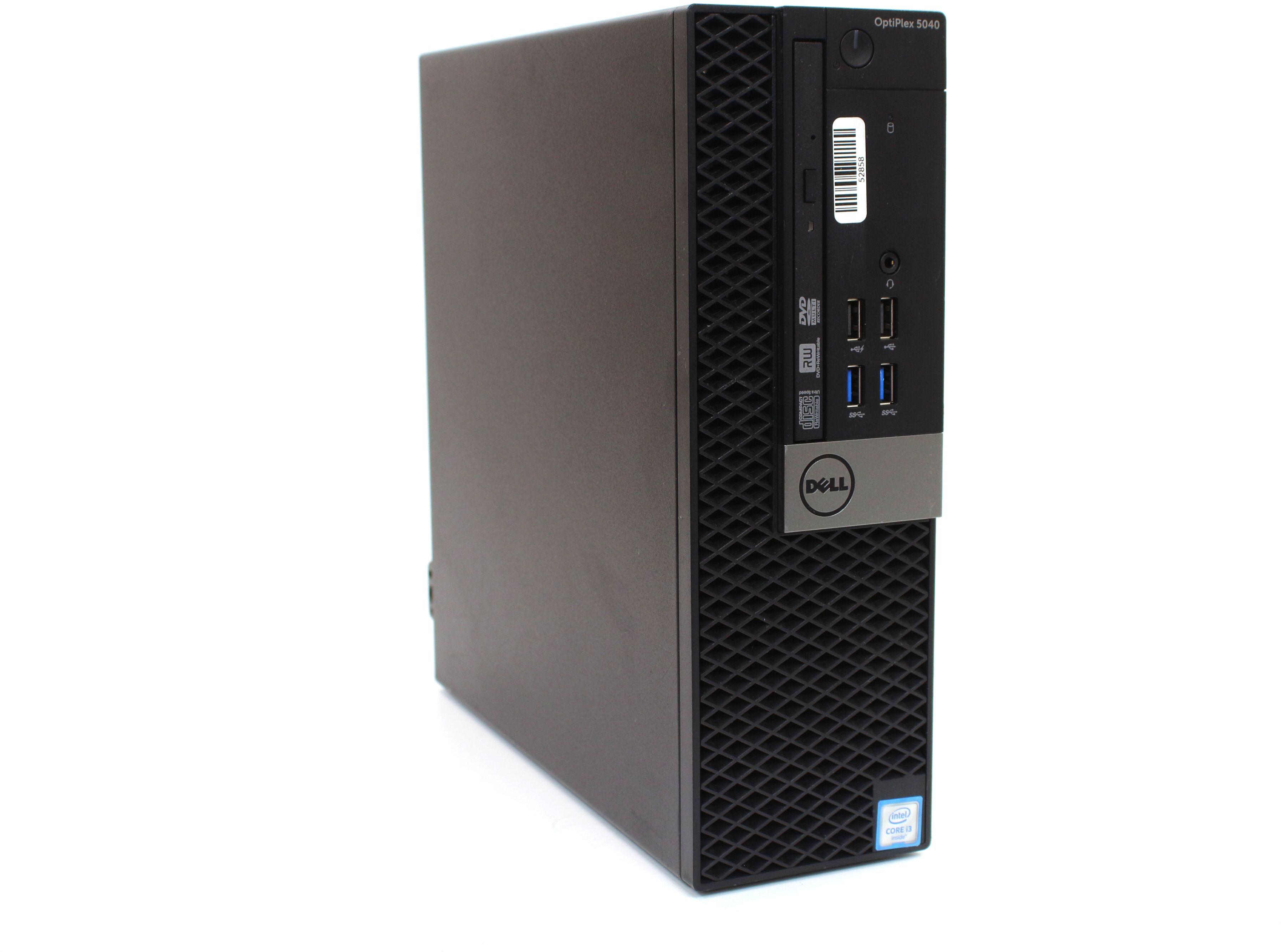 Komputer Dell OptiPlex 5040 SFF i5-6600T 4x3,50GHz 8GB 256GB SSD DVDRW Windows 10 Professional