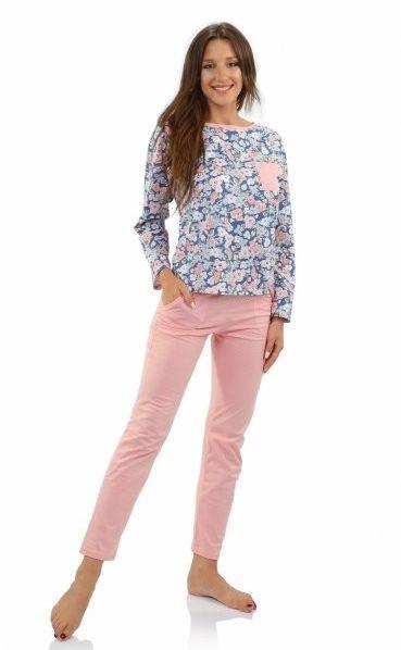 Sesto senso karolina long piżama damska