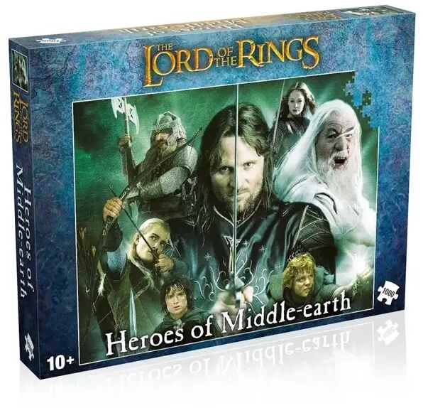 Puzzle 1000 Lord of the rings Heroes of Middlearth - Winning Moves