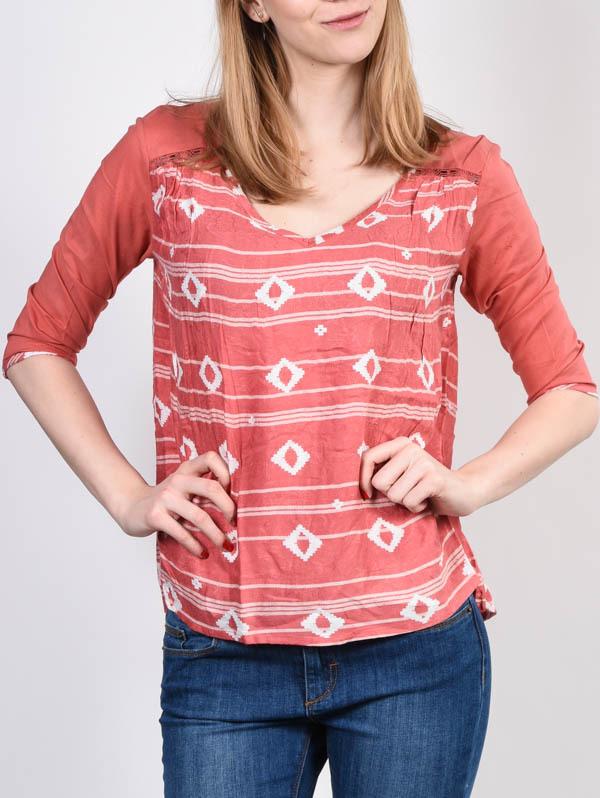 Roxy OUTER MLP6 koszulka damska z długimi rękawami - M