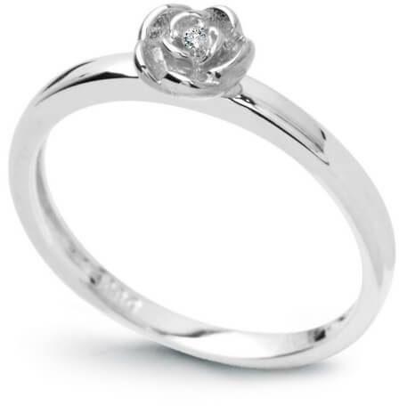 Złoty pierścionek PBD3748W - Diament