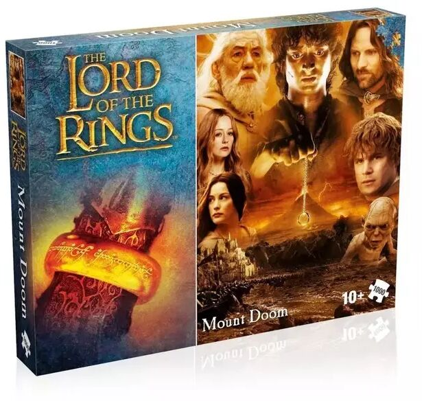 Puzzle 1000 Lord of the rings Mount Doom - Winning Moves