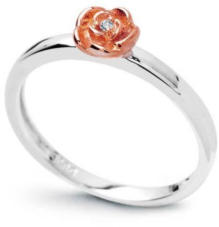 Złoty pierścionek PBD3749 - Diament