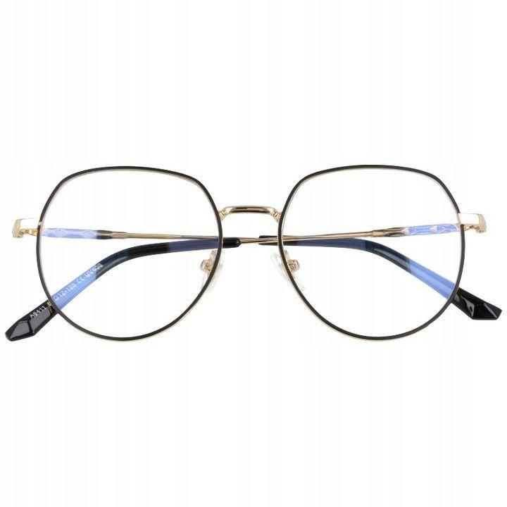 Okulary Lenonki z filtrem światła niebieskiego do komputera zerówki 2533-1