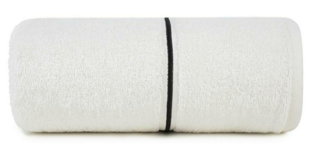 Ręcznik Bambo 50x90 biały bambusowy 500g/m2 frotte Eurofirany
