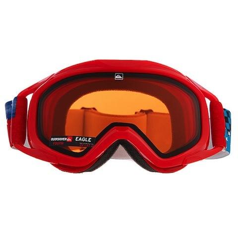 okulary snowboardowe dziecięce QUIKSILVER THE EAGLE CLASS B 1-EEQBTG00000-RED-1