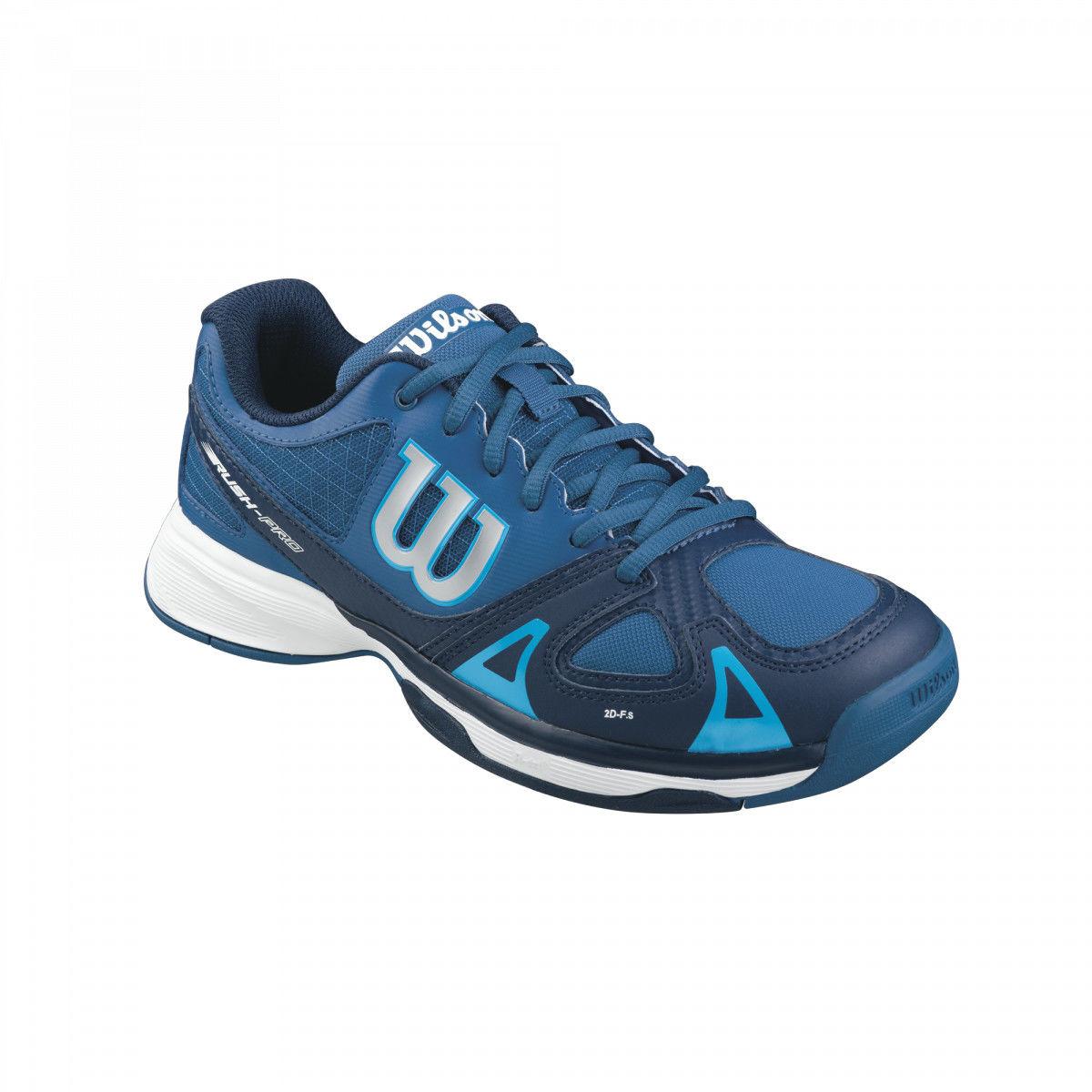 Wilson Rush Pro Junior - deep water/navy/scuba blu