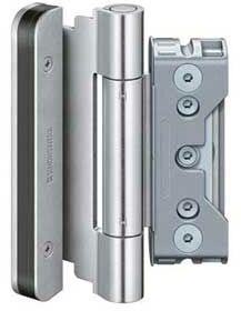 Zawias do drzwi zewnętrznych BAKA protect 4010 3D FD MSTS ocynk srebrny