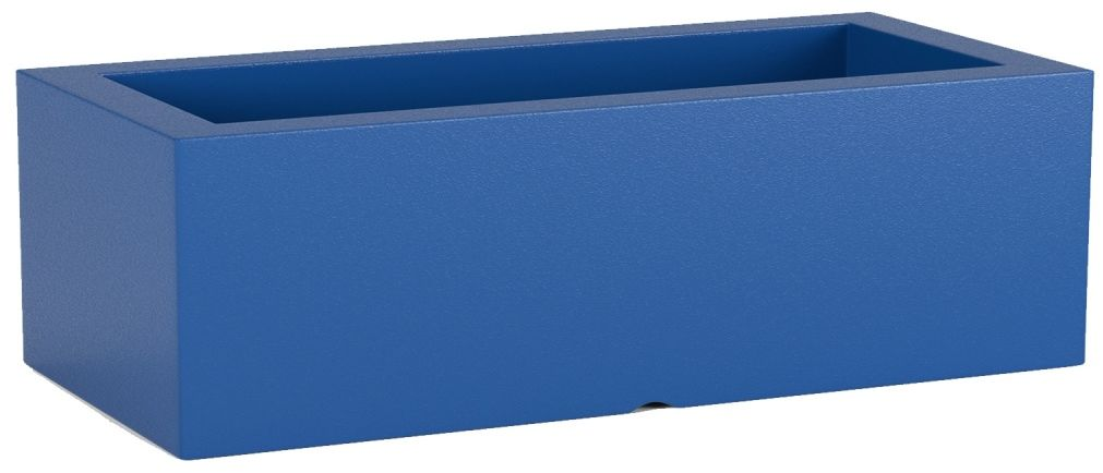 Donica z polietylenu OFFICE POT M niebieski