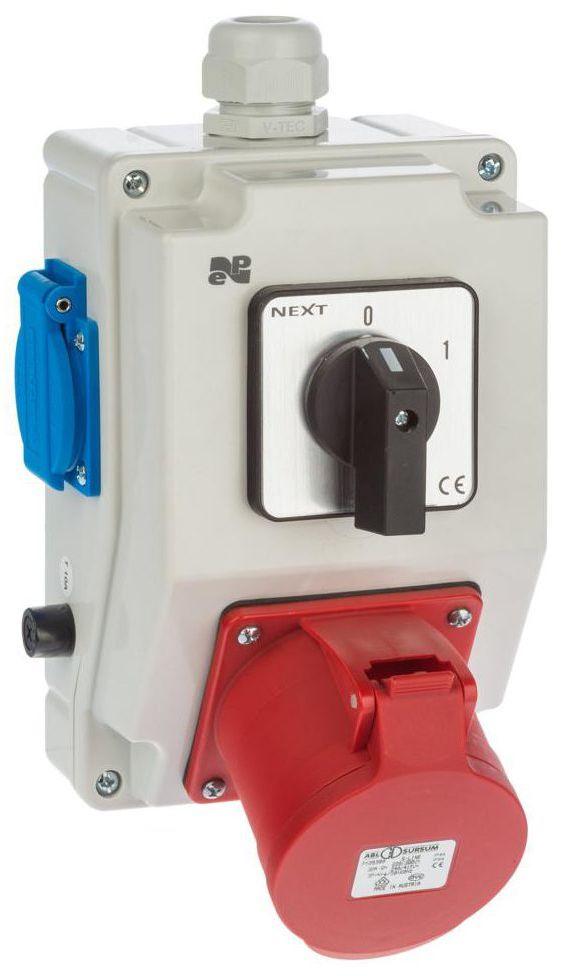 Rozdzielnica elektryczna bez wyposażenia 6275 - 00 / RS - Z 0 - 1 2P + Z 3P + N + Z 32A ELEKTRO-PLAST