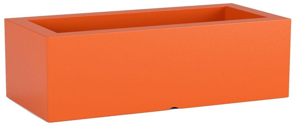 Donica z polietylenu OFFICE POT M pomarańczowy